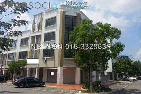For Rent Office at TSB Commercial Centre, Sungai Buloh Freehold Unfurnished 0R/1B 15k