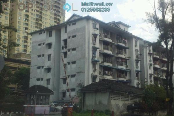 For Rent Condominium at Tanjung Court, Farlim Leasehold Semi Furnished 3R/2B 1.3k