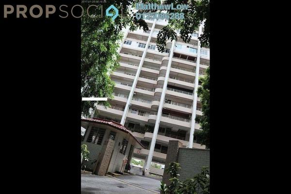 For Rent Condominium at Sea Range Tower, Batu Ferringhi Freehold Fully Furnished 2R/2B 1.8k