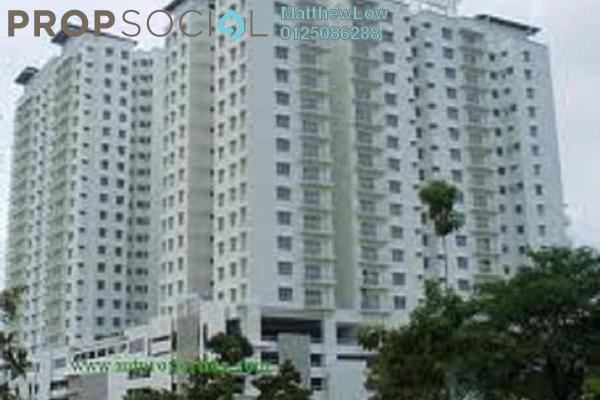 For Sale Condominium at Sea View Tower, Butterworth Freehold Semi Furnished 4R/2B 450k