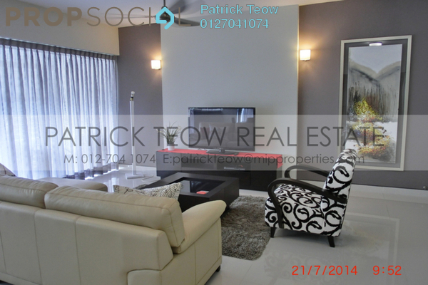 For Rent Condominium at The Plaza Condominium, TTDI Freehold Fully Furnished 3R/3B 4k