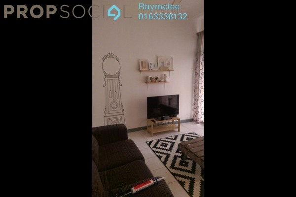 For Rent Condominium at Impian Heights, Bandar Puchong Jaya Freehold Semi Furnished 3R/2B 1.2k