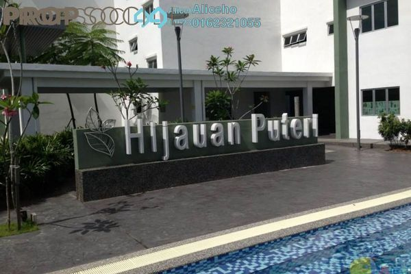 For Sale Condominium at Hijauan Puteri, Bandar Puteri Puchong Freehold Semi Furnished 3R/2B 480k