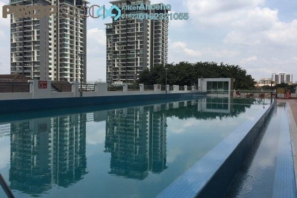 For Rent Condominium at Gembira Residen, Kuchai Lama Freehold Semi Furnished 3R/3B 2.2k