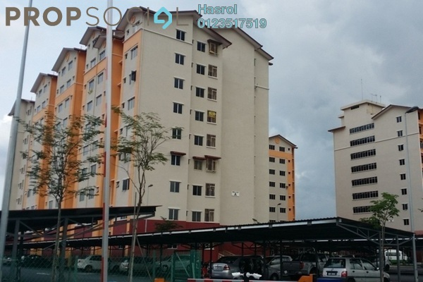 For Rent Apartment at Melor Apartment, Kajang Freehold Semi Furnished 3R/2B 1k