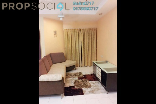 For Sale Condominium at Symphony Park, Jelutong Freehold Fully Furnished 3R/2B 450k