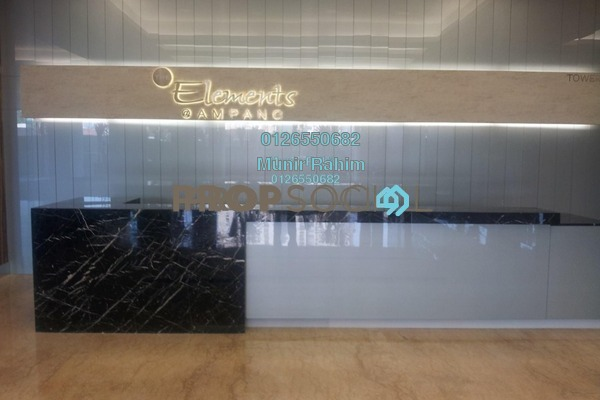 For Rent Serviced Residence at The Elements, Ampang Hilir Freehold Fully Furnished 2R/2B 3.6k
