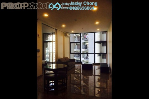 For Rent Serviced Residence at Laman Ceylon, Bukit Ceylon Freehold Fully Furnished 1R/1B 3k
