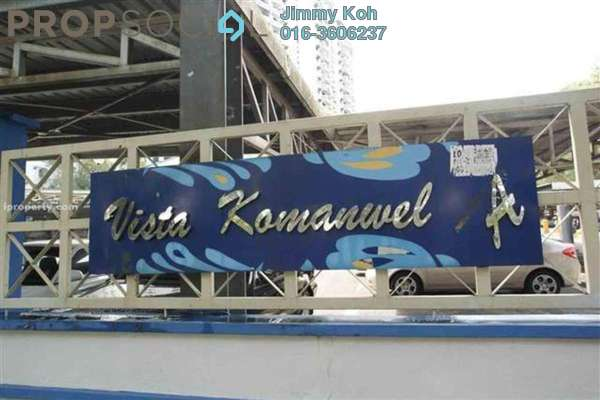 For Rent Condominium at Vista Komanwel, Bukit Jalil Freehold Fully Furnished 3R/2B 2.4k
