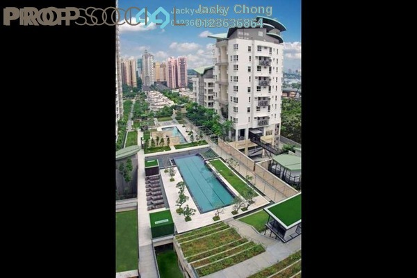 For Sale Condominium at Hijauan Kiara, Mont Kiara Freehold Semi Furnished 4R/4B 2.1m