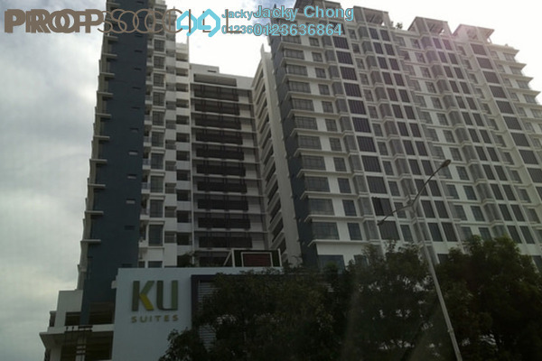 For Sale Apartment at KU Suites, Kemuning Utama Leasehold Semi Furnished 3R/2B 655k