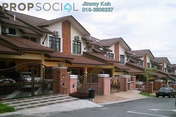 For Rent Terrace at Taman Segar Perdana, Cheras Leasehold Unfurnished 4R/3B 1.5k
