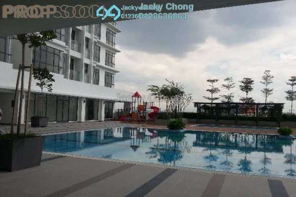 For Sale Serviced Residence at KU Suites, Kemuning Utama Leasehold Semi Furnished 3R/2B 655k