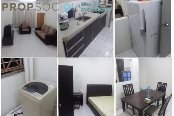 For Rent Condominium at Pertiwi Indah, Cheras Leasehold Fully Furnished 3R/2B 2.6k