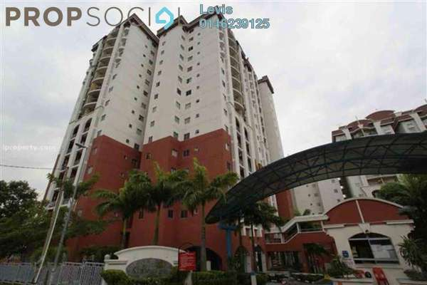 For Rent Condominium at Ketumbar Hill, Cheras Freehold Semi Furnished 2R/2B 1.1k