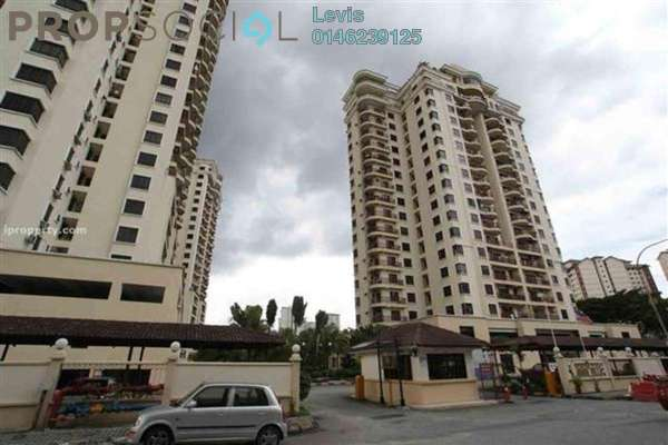 For Sale Condominium at Abadi Villa, Taman Desa Leasehold Fully Furnished 3R/2B 520.0千