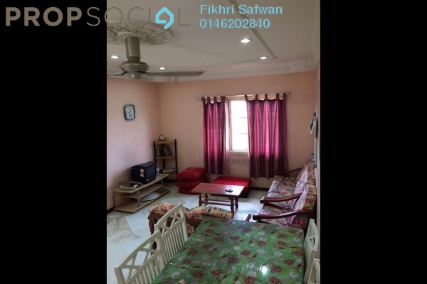 For Rent Apartment at Section 7, Shah Alam Leasehold Fully Furnished 3R/2B 1.3k