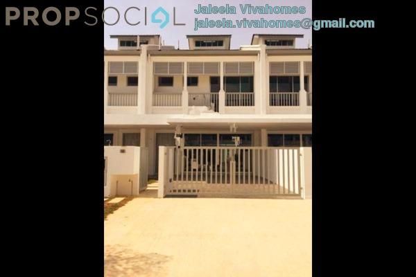 For Rent Terrace at Perennia, Bandar Rimbayu Leasehold Semi Furnished 4R/4B 1.5k