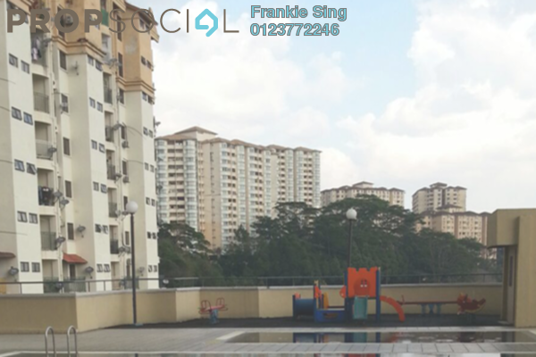 For Sale Apartment at Ixora Apartment, Kepong Leasehold Unfurnished 3R/2B 255k