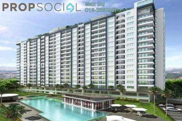 For Rent Condominium at Casa Tropika, Puchong Leasehold Semi Furnished 3R/2B 1.6k