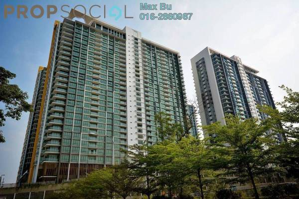 For Rent Condominium at The Z Residence, Bukit Jalil Freehold Semi Furnished 3R/2B 1.6k