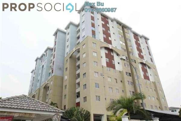 For Rent Condominium at Aliran Damai, Cheras South Freehold Unfurnished 3R/2B 1.25k