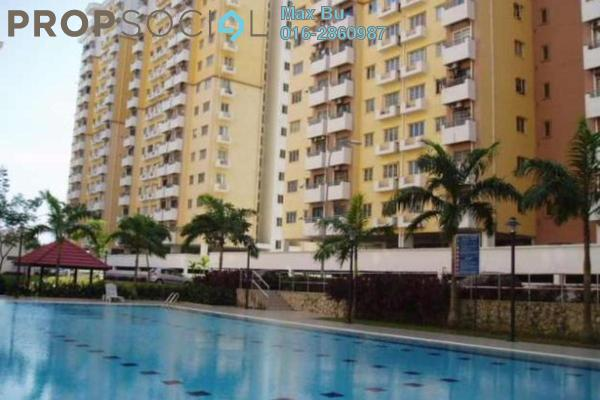 For Rent Condominium at Lestari Apartment, Bandar Sri Permaisuri Leasehold Semi Furnished 3R/2B 1.1k