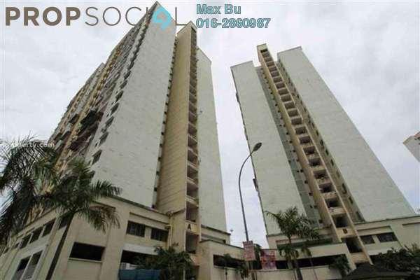 For Rent Condominium at Seri Puteri, Bandar Sri Permaisuri Leasehold Semi Furnished 3R/2B 1.05k
