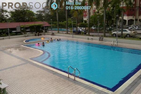 For Rent Condominium at Winner Court B, Desa Petaling Leasehold Semi Furnished 3R/2B 1.2k