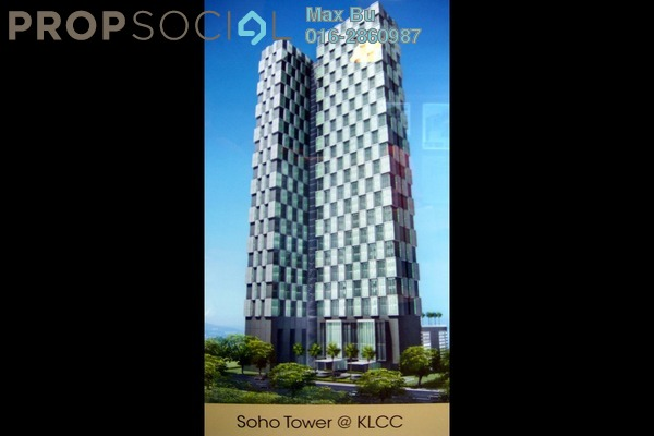 For Rent Condominium at Soho Suites, KLCC Freehold Fully Furnished 1R/1B 3.4k