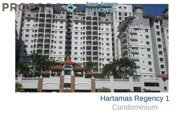 For Rent Condominium at Hartamas Regency 1, Dutamas Freehold Fully Furnished 3R/3B 3.2k