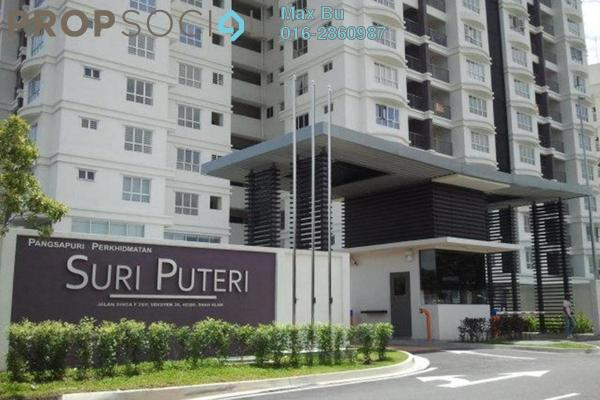 For Rent Condominium at Section 20, Shah Alam Leasehold Fully Furnished 3R/2B 2.3k