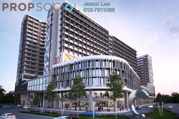 For Sale Condominium at Centro, Shah Alam Leasehold Semi Furnished 2R/2B 430k