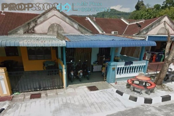 For Sale Terrace at Villa Pondok Upeh, Balik Pulau Freehold Unfurnished 3R/2B 390k