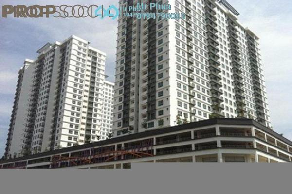 For Rent Condominium at The Golden Triangle, Relau Freehold Semi Furnished 4R/2B 1.1k