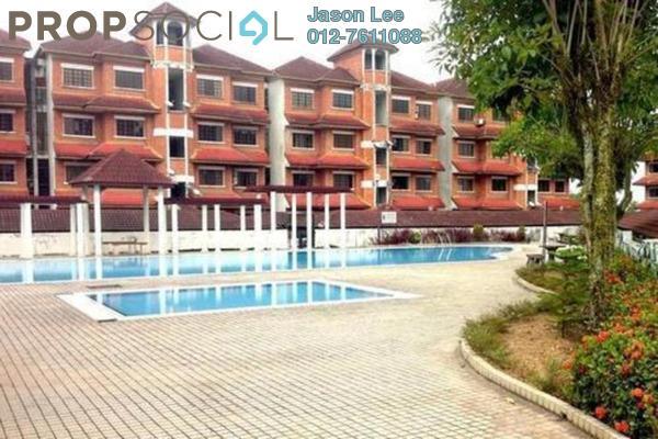 For Sale Condominium at Red Ruby Apartment, Seri Kembangan Freehold Unfurnished 3R/2B 215k