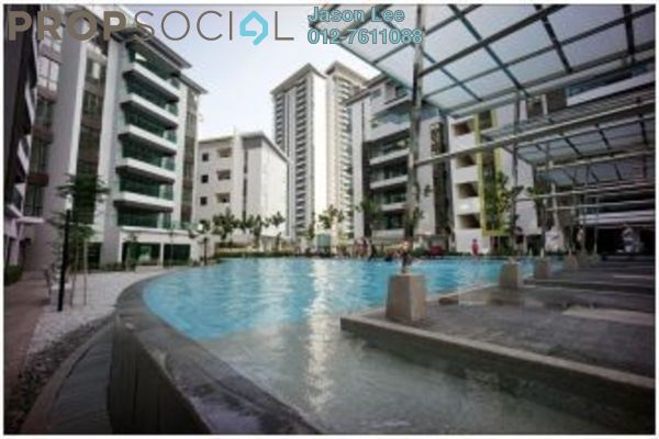 For Rent Condominium at Serin Residency, Cyberjaya Freehold Semi Furnished 3R/2B 2k
