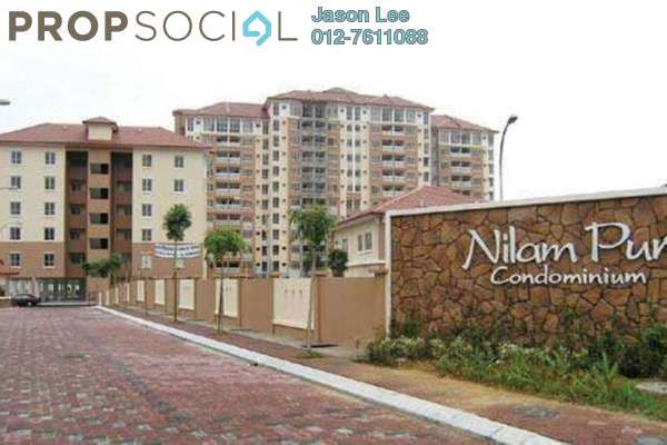 For Rent Condominium at Nilam Puri, Bandar Bukit Puchong Freehold Fully Furnished 3R/2B 2k