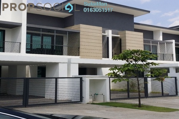 For Rent Terrace at Zircona, Alam Impian Freehold Semi Furnished 5R/3B 1.75k