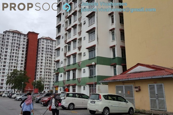 For Rent Apartment at Ilham Apartment, TTDI Jaya Leasehold Semi Furnished 3R/2B 1.15k