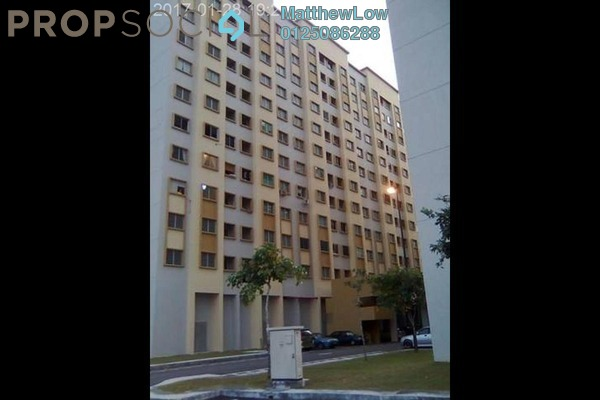 For Rent Condominium at Palm Court, Seri Tanjung Pinang Freehold Fully Furnished 3R/2B 1.1k