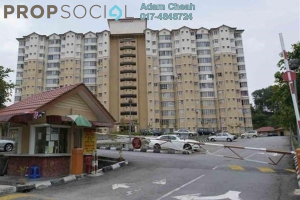 For Sale Condominium at Merak Apartment, Bandar Kinrara Freehold Unfurnished 3R/2B 400k