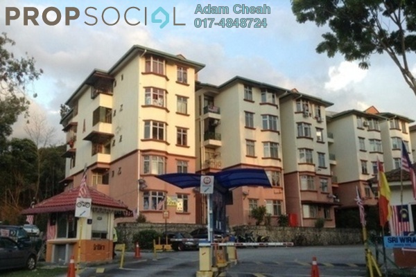For Sale Apartment at Sri Wira Apartment, Ukay Leasehold Unfurnished 3R/2B 230k