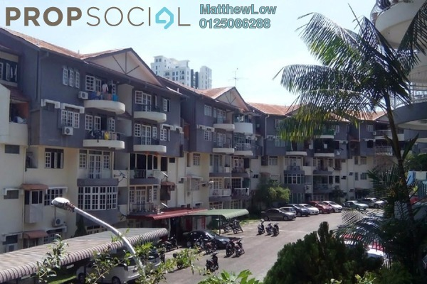 For Sale Apartment at Mutiara Perdana 1, Sungai Ara Freehold Semi Furnished 3R/2B 280k