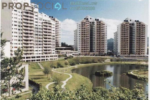 For Rent Condominium at Parkview Towers, Bukit Jambul Leasehold Fully Furnished 3R/2B 1.7k