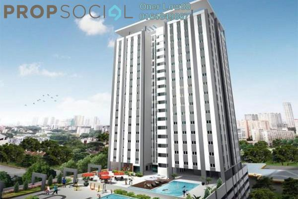 For Rent Condominium at Straits Garden, Jelutong Freehold Fully Furnished 4R/2B 2.8k