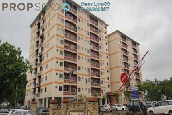 For Rent Apartment at Taman Mas Flat, Sungai Nibong Freehold Semi Furnished 3R/2B 750translationmissing:en.pricing.unit