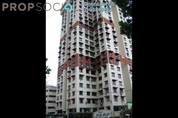 For Rent Apartment at Taman Pekaka, Sungai Dua Freehold Fully Furnished 3R/2B 1.4k