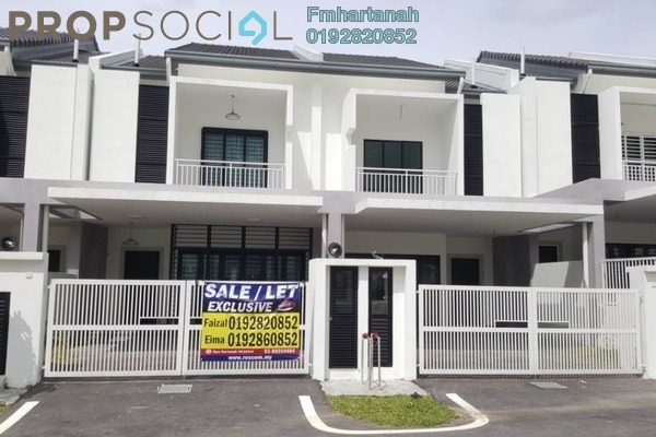 For Sale Terrace at Delfina, Nilai Impian Freehold Unfurnished 4R/3B 635k