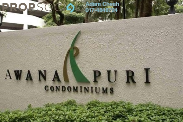 For Rent Condominium at Awana Puri, Cheras Leasehold Semi Furnished 3R/2B 1.5k